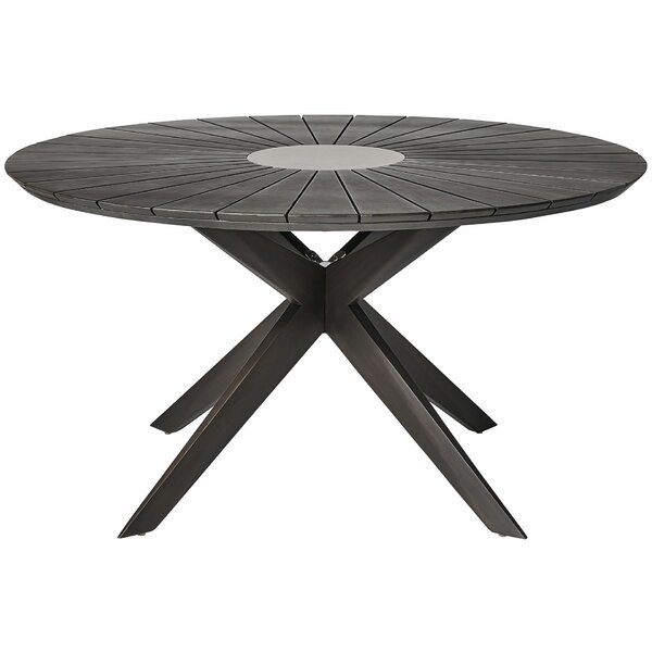 Bilodeau Wooden Bistro Table by Corrigan Studio