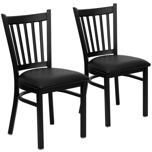 Hannum Upholstered Dining Chair (Set of 2) by Charlton Home