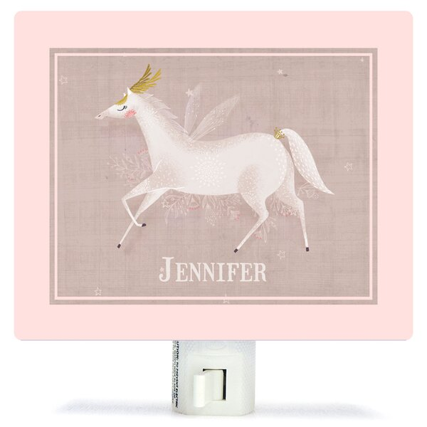 Dance Under The Stars by Antoana Oreski Personalized Canvas Night Light by Oopsy Daisy
