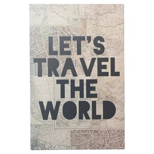 Travel the World Canvas Print by iCanvas
