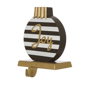 Striped Ornament Stocking Holder