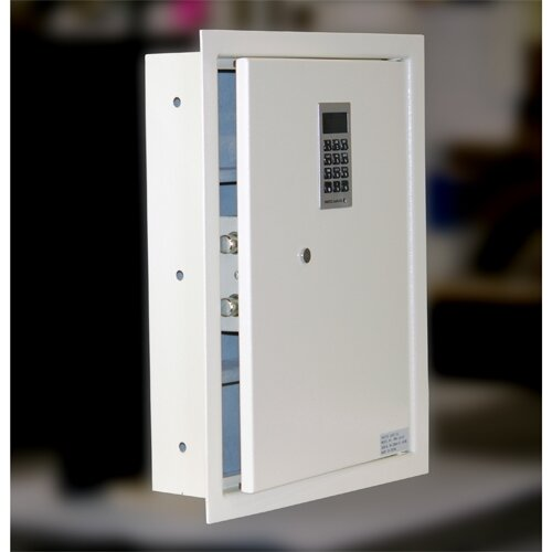 Electronic Lock Wall Safe 0.44 CuFt by Protex Safe Co.