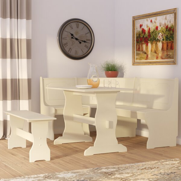 Foristell 3 Piece Breakfast Nook Dining Set By August Grove
