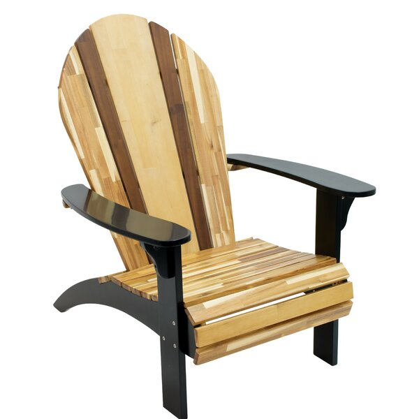Engelman Solid Wood Adirondack Chair by Highland Dunes Highland Dunes