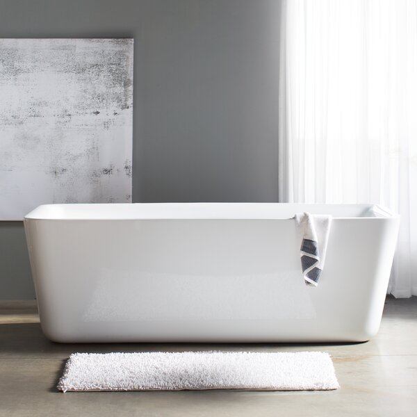 Emily 69 x 31 Soaking Bathtub by Wyndham Collection