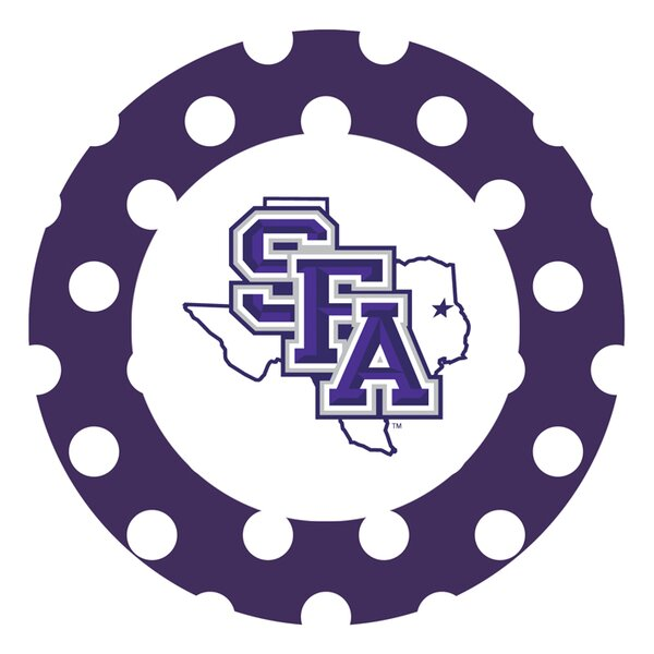 Stephen F Austin University Dots Collegiate Coaster (Set of 4) by Thirstystone