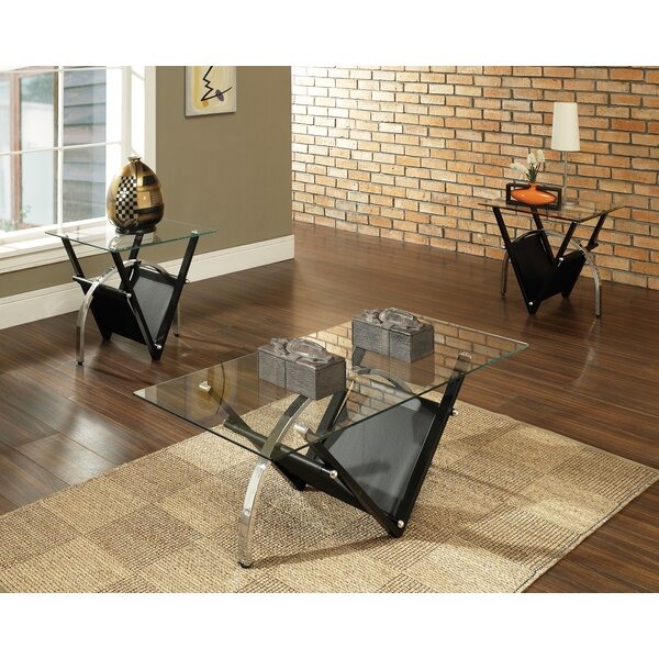 Sanfilippo 3 Piece  Coffee Table Set by Latitude R