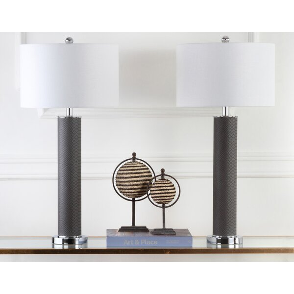 Moira Contemporary 32.5 Table Lamp (Set of 2) by Willa Arlo Interiors