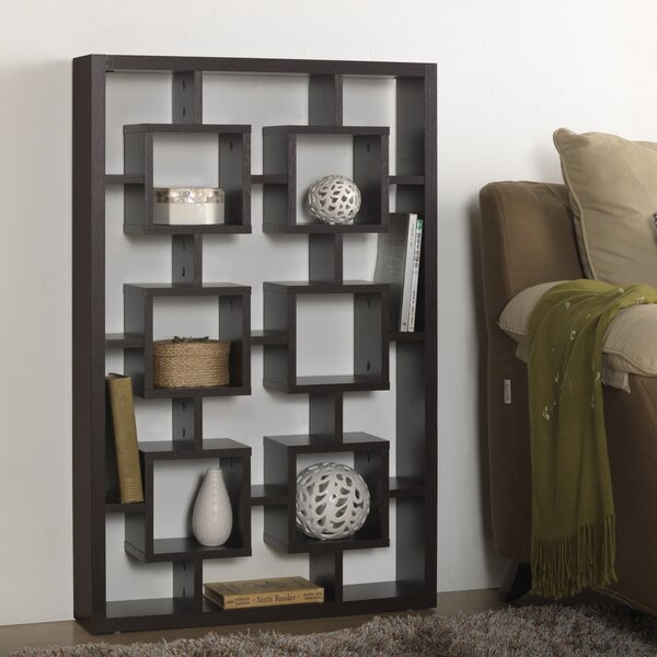Kaplan Geometric Bookcase By Mercer41 Read Reviews