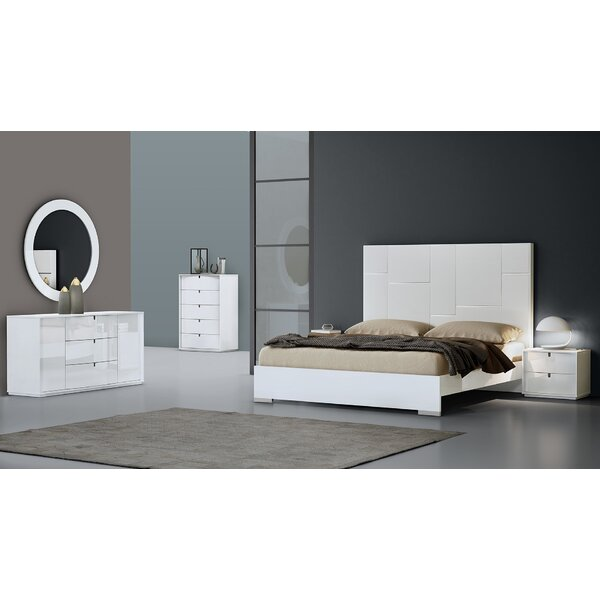 Platform 4 Piece Configurable Bedroom Set by Orren Ellis