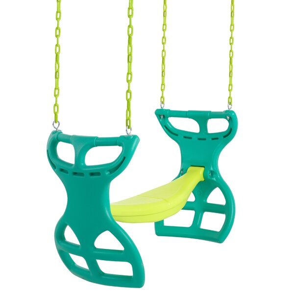 Glider Swing with Chains and Hooks by Swingan