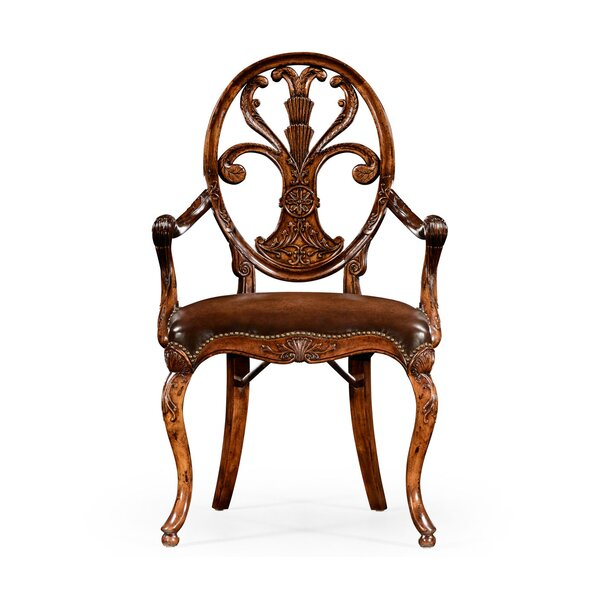 Windsor Solid Wood Dining Chair (Set of 2) by Jonathan Charles Fine Furniture