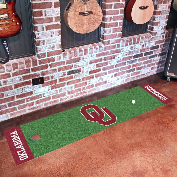 NCAA University of Oklahoma Putting Green Doormat by FANMATS