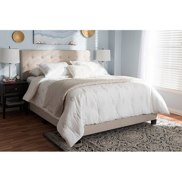 Keisha Upholstered Standard Bed by Charlton Home