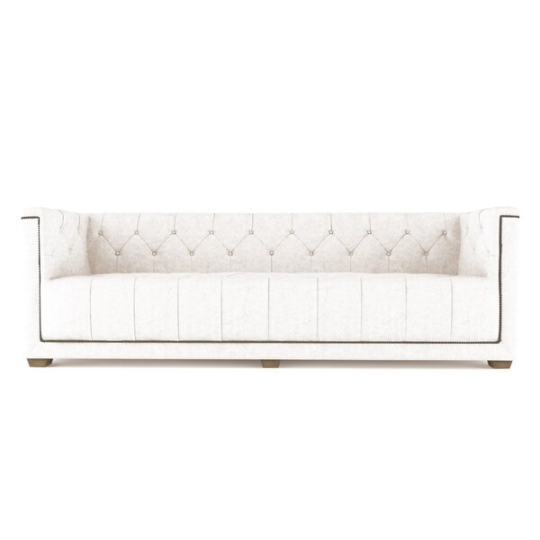 Augill Leather Sofa By Canora Grey