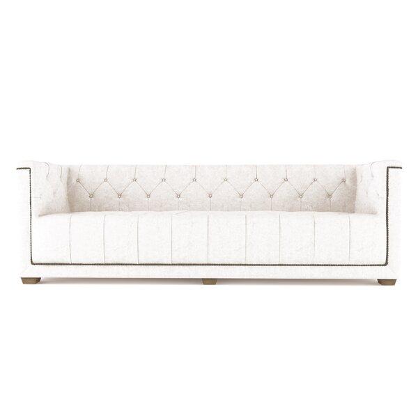 Home & Garden Augill Leather Sofa
