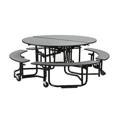 Uniframe Table 82'' Circular Cafeteria Table by KI Furniture
