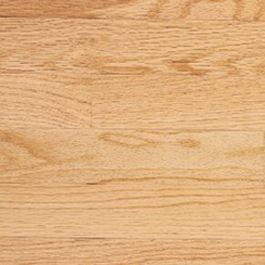 Color Plank 3-1/4 Engineered Red Oak Hardwood Flooring in Natural by Somerset Floors