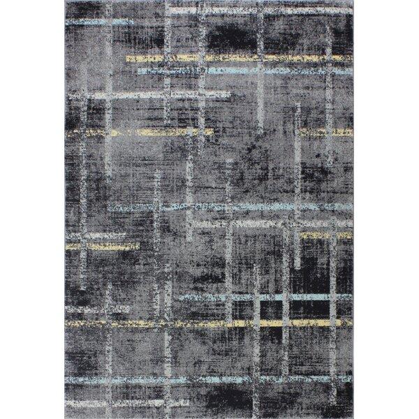 Sanda Gray Area Rug by Williston Forge