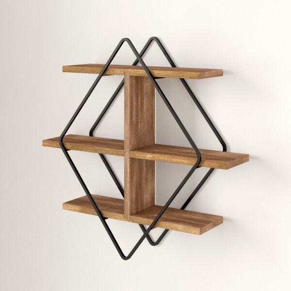 Daryl 3 Piece Diamond Accent Shelf