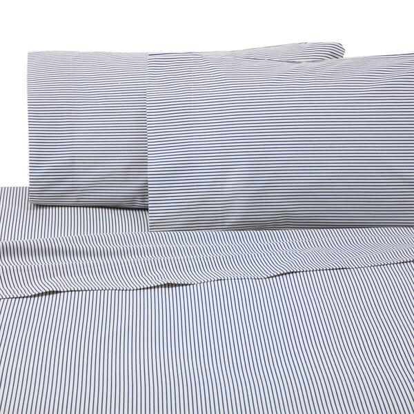 Bradley Stripe 225 Thread Count Sheet Set by IZOD