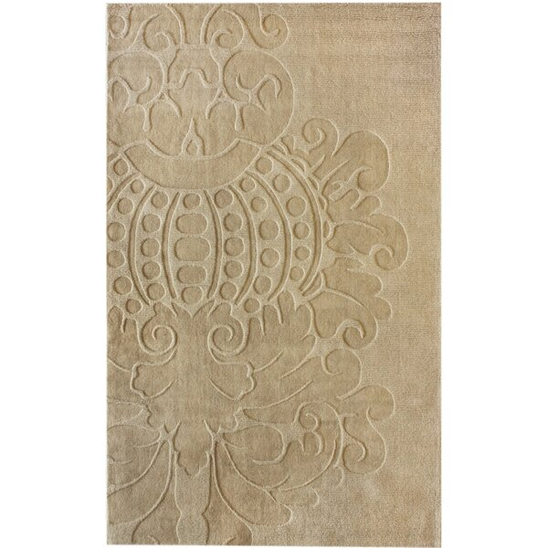 Marbella Hand-Woven Wool Ivory Area Rug by nuLOOM