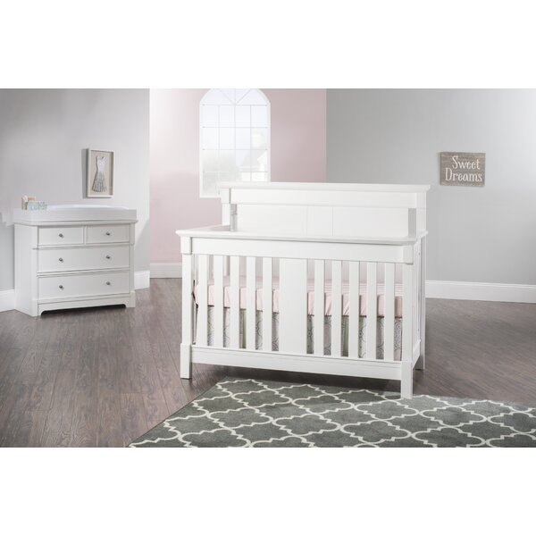 Bradford 4-in-1 Convertible 4 Piece Crib Set by Ch