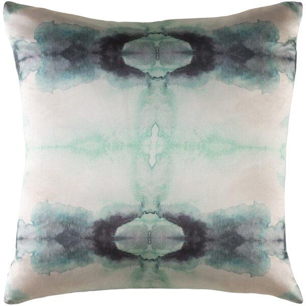 Leach Silk Throw Pillow by Brayden Studio
