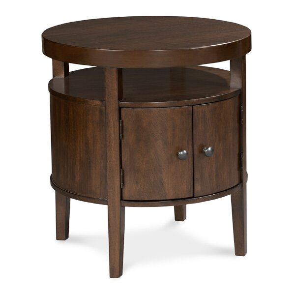 Vero End Table with Storage by Fairfield Chair