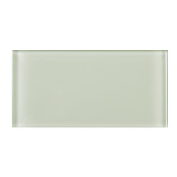3 x 6 Glass Tile in Beige by Multile