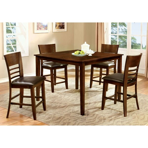 Yoder 5 Piece Pub Table Set by Alcott Hill