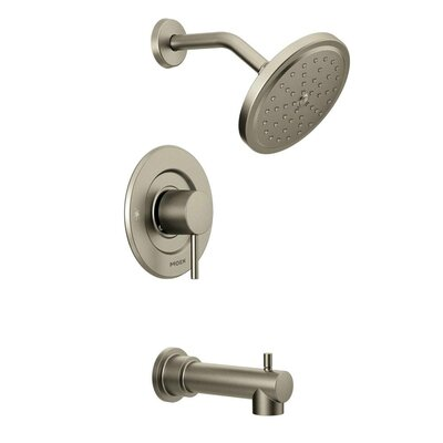 Shower Faucet Tub Brushed Nickel photo