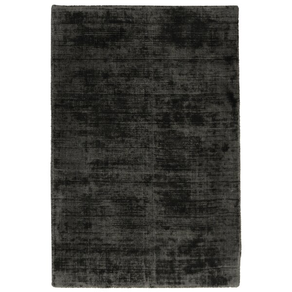 Wrightsville Handwoven Charcoal Area Rug by Greyleigh