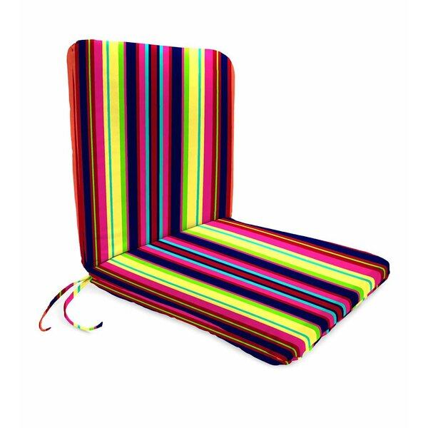 Classic Polyester Outdoor Chaise Lounge Cushion by Plow & Hearth
