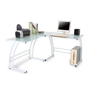 L-Shape Corner Credenza desk