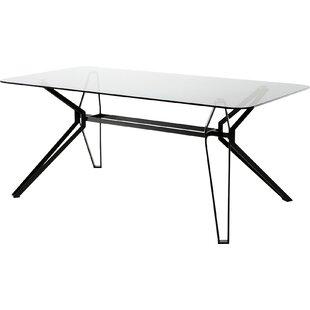 Read Reviews Camron Metal Base Dining Table ByOrren Ellis