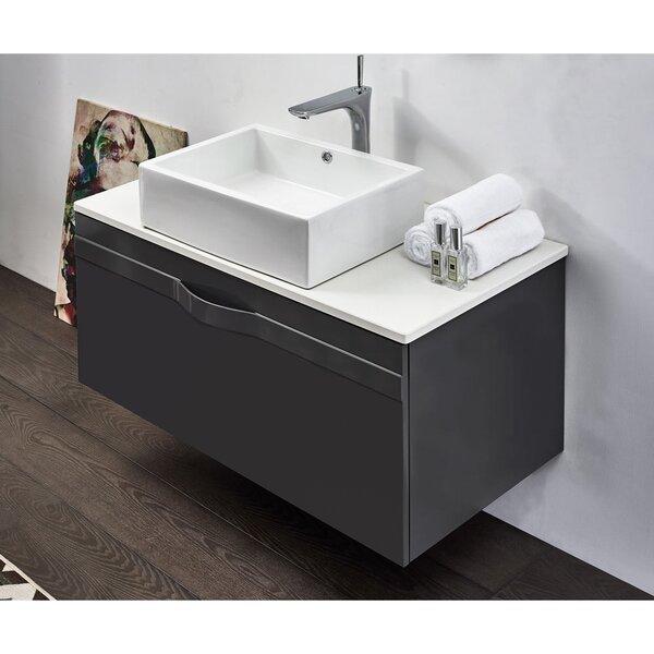Fernald 40 Wall-Mounted Single Bathroom Vanity Set