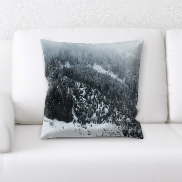 Winter Feeling (81) Throw Pillow by Rug Tycoon