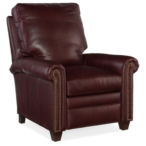 Raylen Leather Manual Recliner by Bradington-Young
