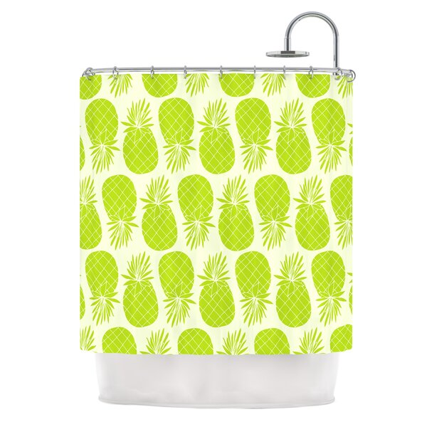 Pinya by Anchobee Shower Curtain by East Urban Home
