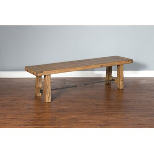 Joliette Dry Leaf Wood Bench