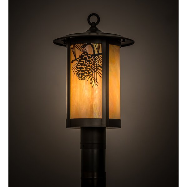 Wyona Winter Pine 1-Light Lantern Head by Loon Peak