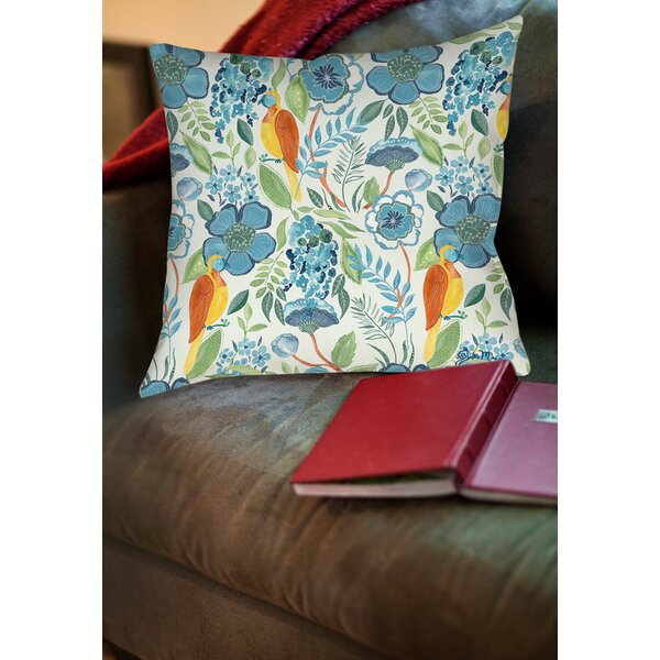 Osa Printed Throw Pillow by Manual Woodworkers & Weavers
