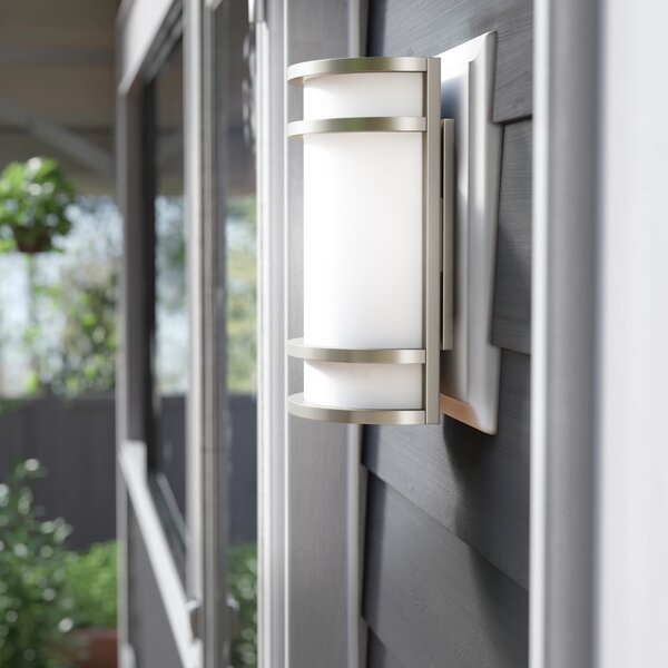 Murrin LED Outdoor Bulkhead Light by Brayden Studio