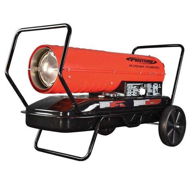 175,000 BTU Kerosene And Diesel Forced Air Utility Heater By Pro-Temp
