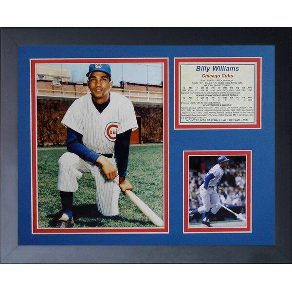 Billy Williams Framed Memorabilia by Legends Never Die