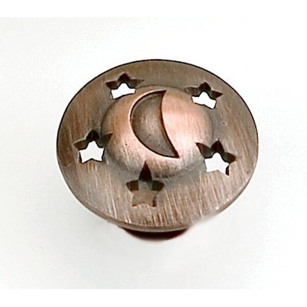 Celestials Mushroom Knob by Laurey