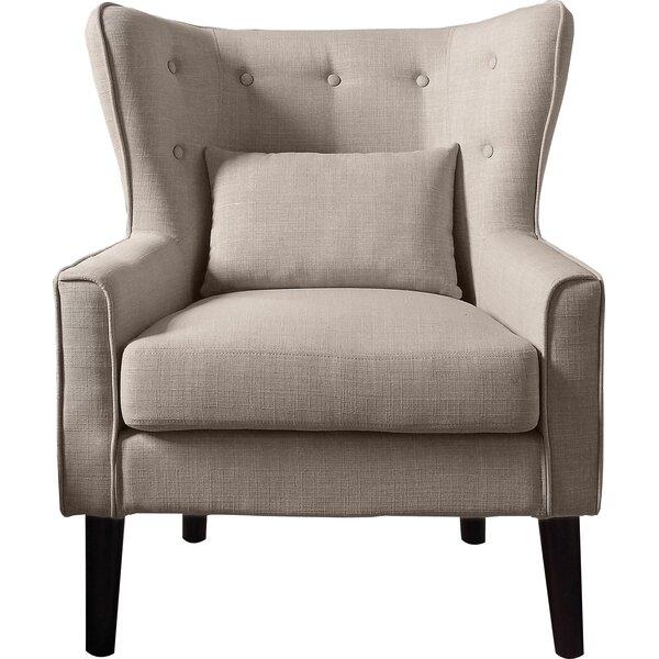 Millett Wingback Chair by Three Posts Three Posts