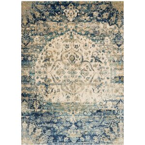 Potter Blue Area Rug