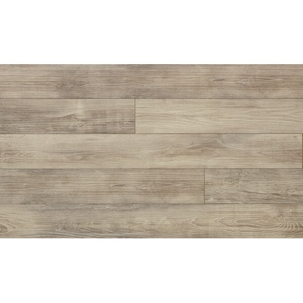 Elevae 6 x 54.34 x 12 mm Chestnut Laminate Flooring in Silver Sands by Quick-Step